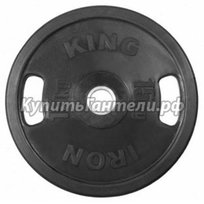 Блин обрезиненный  Евро-Классик 15 кг (d51) с хватами