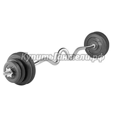 Штанга W 35 кг TITAN