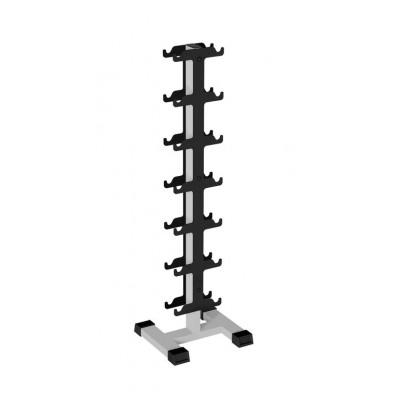 IK 204 Стойка для профессиональных гантелей вертикальная на 7 пар